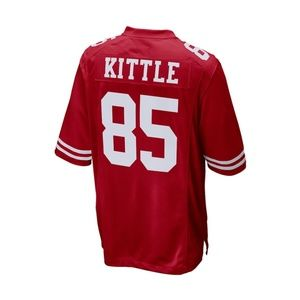 Kittle Red Stitched Jersey